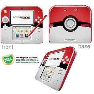Pokemon-Pokeball-Vinyl-Skin-Sticker-for-Nintendo-2DS