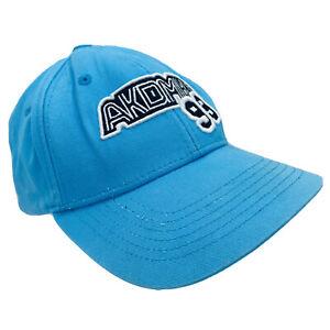 Akademiks 99 Blue SnapBack Hat Cap Baseball Embroidered Black And White Logo