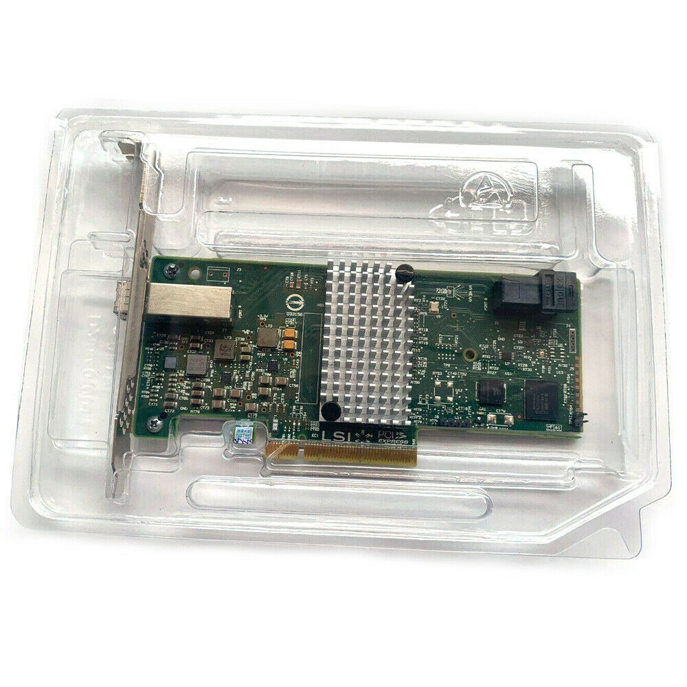 LSI 9300-4i4e LSI00348 H5-25515-00 12Gb//s 4-Ports PCI-E 3.0 x8 External SAS HBA