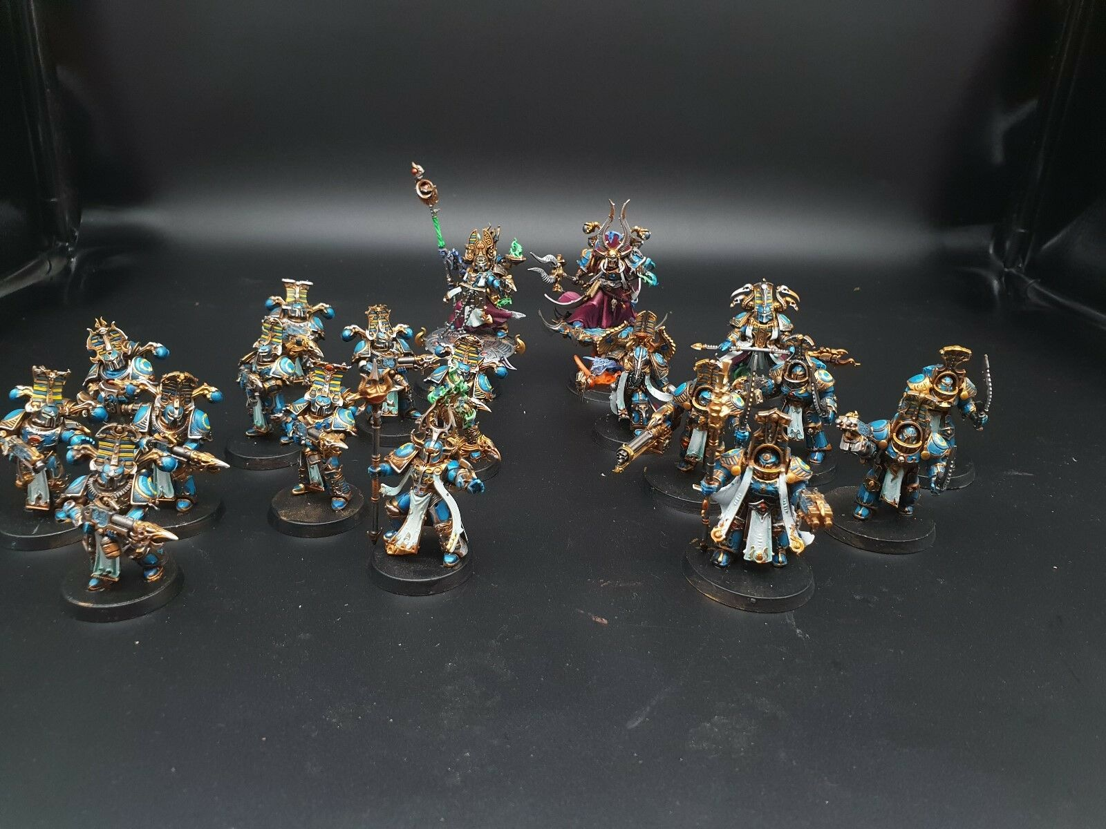 Warhammer THOUSAND SONS SPACE MARINE ARMY Pro Painted Made To Order