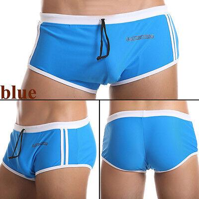 Brand Men's Boxer Briefs Swimwear Sexy Swim Trunks Underwear Size M L XL M35