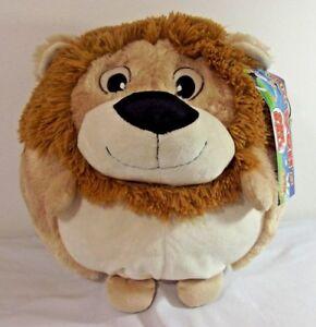 Kellytoy Huge Lion Plush 17 X 14 Round Pillow Pal Pet Tags