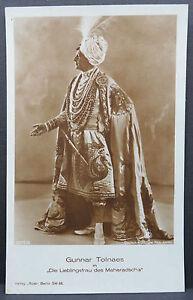 Gunnar-Tolnaes-Maharajah-Ak-Real-Photo-Postcard-Real-Photo-Postcard-Lot-5266