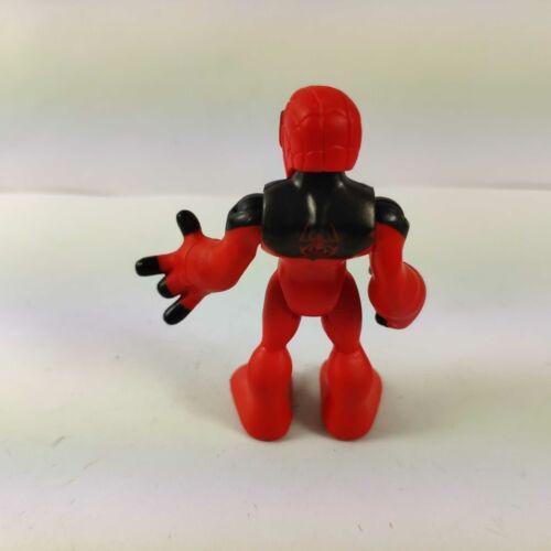 PlaySkool Heroes Marvel Super Hero Adventures Scarlet Spider-Man Rare figure