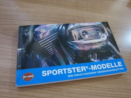 Harley-Davidson Manual BDA Manuel d/'utilisation Sportster Models 2008 99468-08