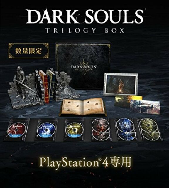 PS4 Dark Souls Trilogía Caja Limitado Ver Mayor Knight