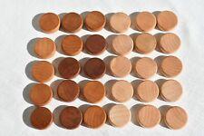BG-Spielsteine 20 x 8 mm braun und natur Erle mini
