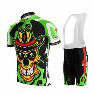 3D COWBOY SKULL Cycling Jersey Set Pants Shorts Bike Ropa Ciclismo ... 355cac6d4