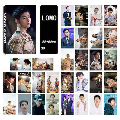 30pics set songjoongki Song Joong Ki LOMOCARDS KPOP NEW