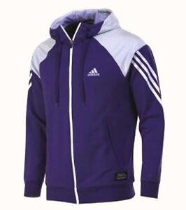 Das Bild wird geladen Adidas-FZ-Hoodie-Sweatjacke-Herren-Sportjacke-Gr-S- b750f68c84