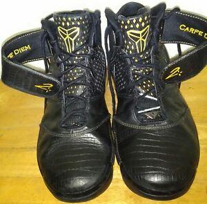 81213947fbe4 2007 Nike Zoom Kobe II 2 Carpe Diem Maize Yellow Black 316022-001 OG ...