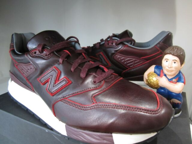 sale retailer 19b69 ab66f New Balance 998 x Horween Leather M998DW US 11 UK 10.5 Burgundy Made in USA  Kith