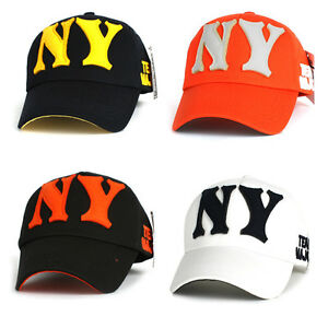 4~10 Years NY New York Children Kids Boys Girls Baseball Cap Team ... f4dba8815a6