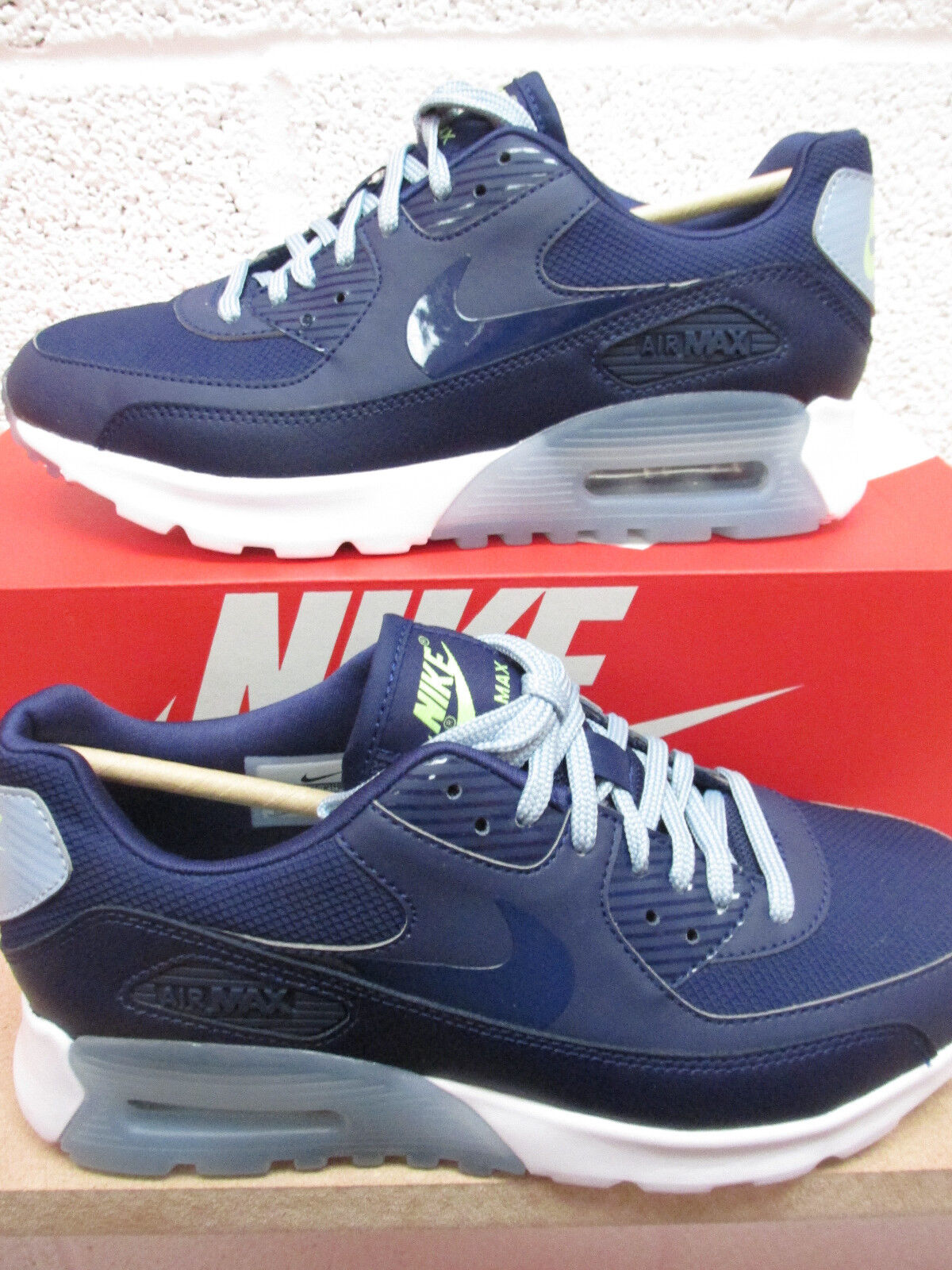 nike womens air max 90 ultra essential trainers 724981 402 sneakers shoes
