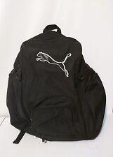 LARGE Puma Black Travel Bag Backpack School Bag Cushion Back & Straps