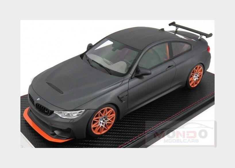 Bmw 4-Series M4 Gts Coupe (F82) 2016 Matt Grey FRONTI-ART 1 18 SA002-91 Model