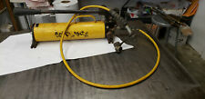 Enerpac P80 Hydraulic Hand Pump With Hose No Leaks 10000 Psi