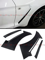 For 2015-17 Ford Mustang Gt Style Front Fender Side Panel Door Side Scoops Vents