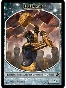 4x-TOKEN-Golem-3-3-MTG-MAGIC-THS-Theros-Eng-Ita