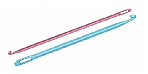 6,00mm Häkeln wie gestrickt KnitPro Knooking Nadel Häkelnadel Aluminium 4,00