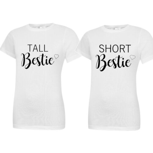 Tall meilleur ami court meilleur ami T-shirts Teen McKinney BFF filles cadeaux drôle 8
