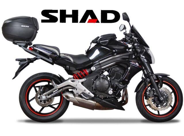 Soporte Portaequipajes Shad Top Master Kawasaki Er650 de 2012 Paquetes Maletero