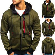 Kapuzenpullover Sweatjacke Hoodie Sweatshirt Pullover Herren BOLF 1A1 Classic