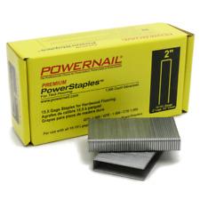 Powerstaples 2 In Leg X 12 In Crown X 15 12 Gauge Steel Hardwood Flooring New