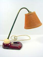 Vintage lampe ceramique cendrier boule 1950 ROCKABILLY style Jacques BINY