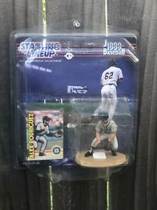 Vintage Alex Rodriguez starting lineup action figure Seattle mariners NY Yanks