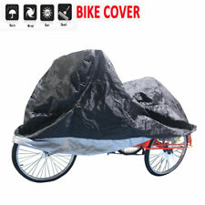 Waterproof Bicycle Tricycle Bike Cover Outdoor Rain Dust Protector Bag 4 Size