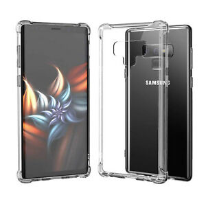 promo code edf9b 7bc82 Details about For Samsung Galaxy Note 9 TPU Case Shockproof Premium Quality  Clear Bumper Cover