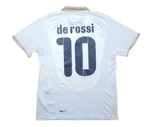 ITALIA 2008-09 ORIGINALE AWAY SHIRT ROSSI #10 (bene) M SOCCER JERSEY
