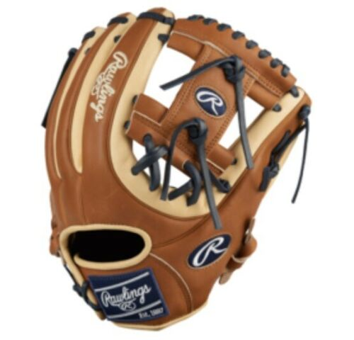"""Rawlings Heart of the hide 11.75/"""" Infield Glove-PRO715SB-2CGB main droite lance"""