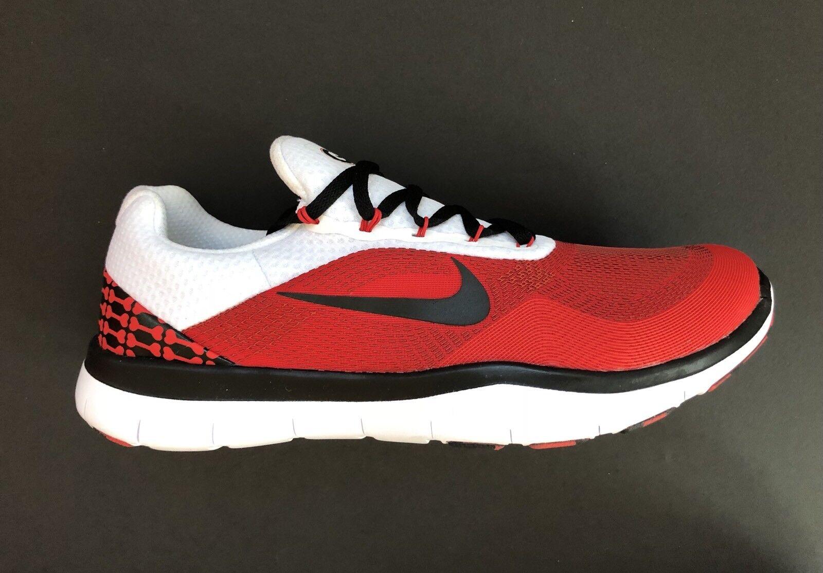 Nike Georgia Bulldogs Free Trainer V7 Week Zero shoes AA0881-602 Size 14