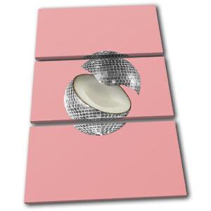 Disco-Ball-Coconut-Concept-Food-Kitchen-TREBLE-CANVAS-WALL-ART-Picture-Print