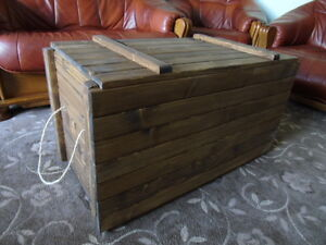 Image Is Loading Rustic Style Large Storage Chest Display Crate Toy