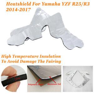 Yamaha YZF 600R  Fairing Seat Heat Shield Protection Sticker Material