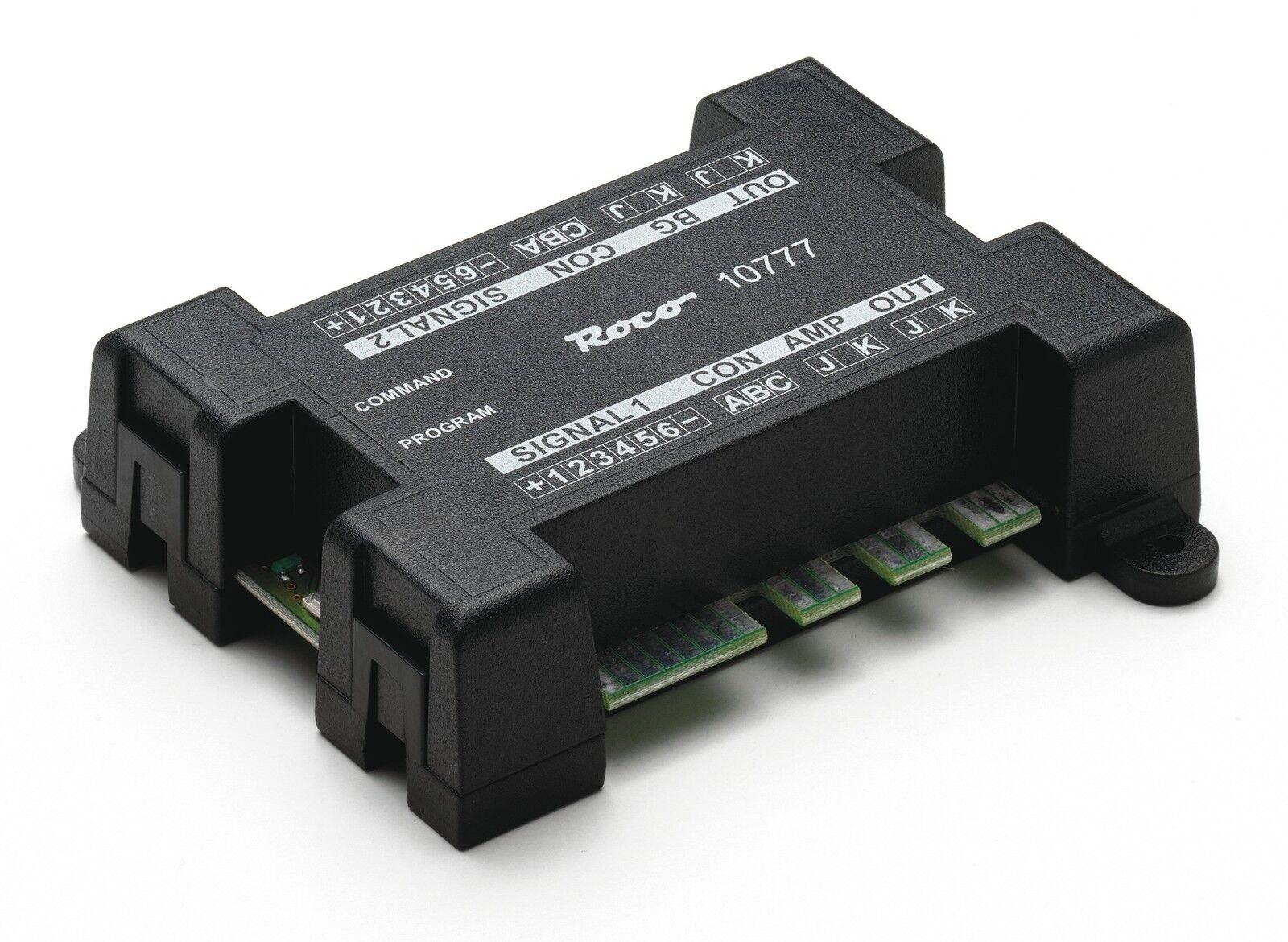 Roco H0 10777 Digital-Signalmodul - Nuovo + Conf. Orig.