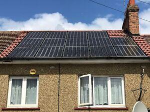 Details about 4kW Solar PV System 13 x 325W Latest V5 LG Panels Black  Frames Fully Installed