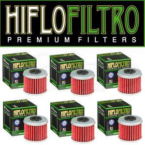 HiFlo-Honda-Motocross-Oil-Filters-CRF-150R-07-18-CRF-250R-CRF-450R-04-18-6PK