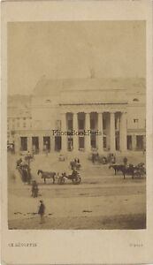 Genova Teatro Carlo-Felice Italia CDV Segoffin Vintage Albumina Ca 1860