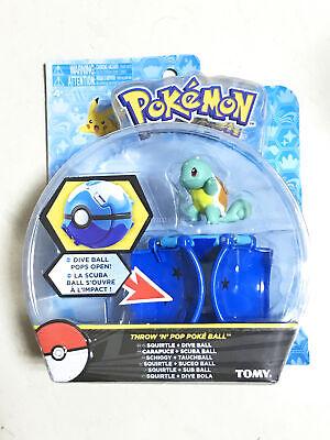 Neue Poke Ball Bounce Pokeball mit Pokemon Figur Spielzeug TOMY Bulbasaur