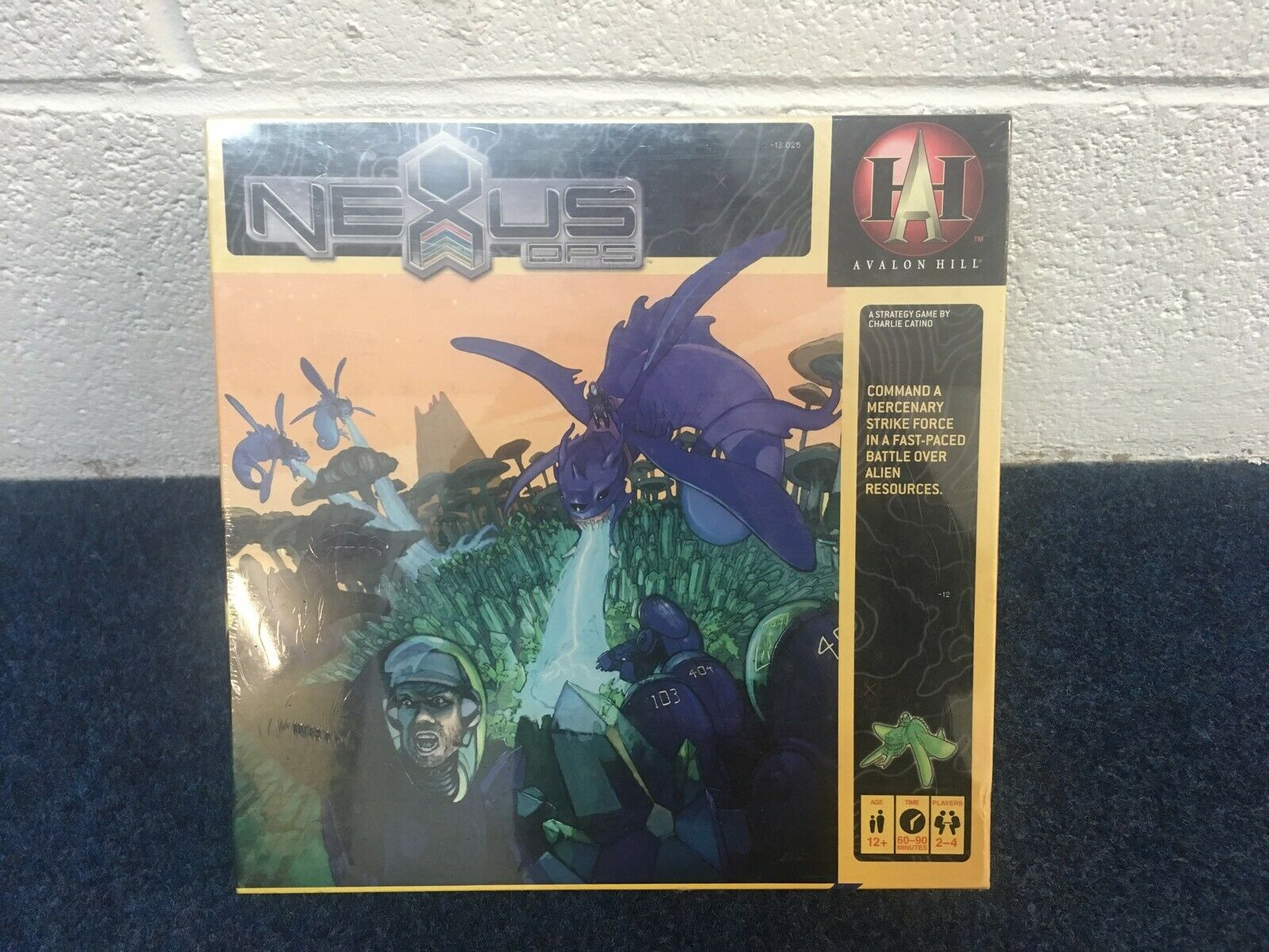 NEXUS OPS by Avalon Hill Games 1st edition Board Game of alien wars NEW & SEALED