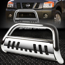 For 05 16 Nissan Frontierpathfinder Chrome Bull Bar Push Bumper Grille Guard
