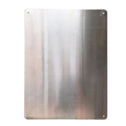 Warning Notice STOP NO ENTRY TO WORKSHIP 200x300mm Metal Visitor Guide Sign