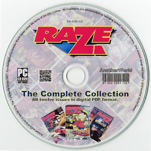 RAZE-MAGAZINE-Full-Run-on-Disk-Atari-Lynx-7800-Sega-Game-Gear-Nintendo-NES-Games