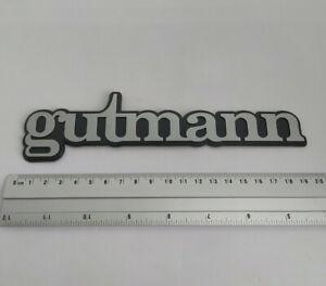 NEUF-MONOGRAMME-GUTMANN-pour-COFFRE-PEUGEOT-205-GTI-LOGO-BADGE-EMBLEME-KIT