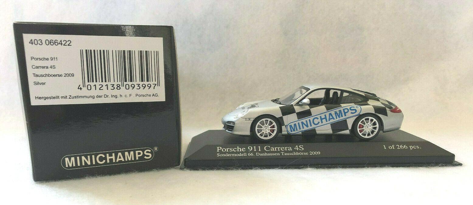 Minichamps 1 43rd Scale Porsche 911 Carrera 4S, Danhausen Tauschboerse 2009
