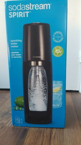 SODASTREAM Spirit Sparkling Water Maker - Black not with cylinder